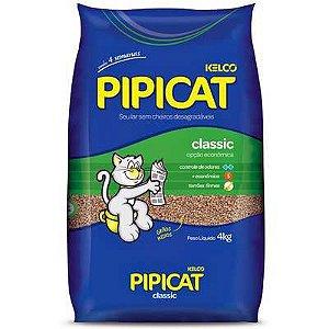 Areia Higiênica Classsic para Gatos - Pipicat