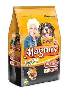 Ração Magnus Todo Dia Adulto - Carne - Média / Grande