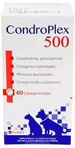 Suplemento CondroPlex - Para Cães e Gatos - 60 Com.