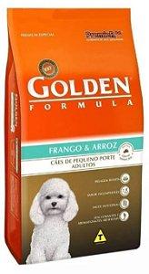 Ração Golden Formula Premium - Cães Adultos Pequeno Porte