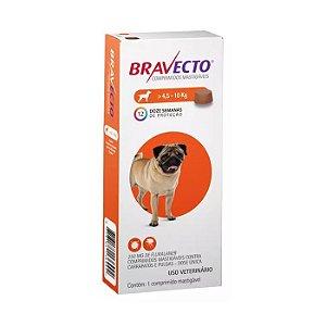 Bravecto Antipulgas e Carrapatos Para Cão Pequeno