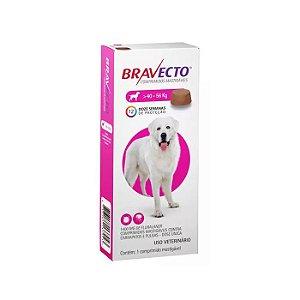 Bravecto Antipulgas e Carrapatos Para Cão Gigante