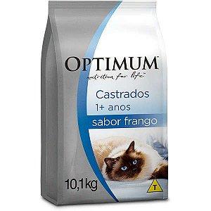 Ração Optimum - Frango - Para Gatos Adultos Castrados - 10kg