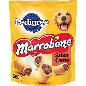 Biscoito Pedigree - Marrobone Carne Para Cães Adultos - 500g