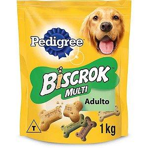 Biscoito Pedigree - Biscrok Multi para Cães Adultos - 500g