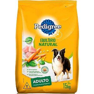 Ração Pedigree - Equilíbrio Natural - Para Cães Adulto de Raças Médias e Grandes 15kg