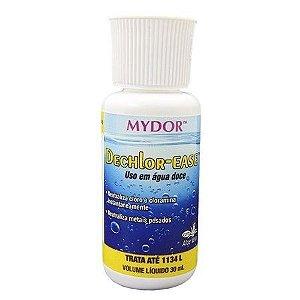 Anti Cloro e Condicionador de Água Dechlor Ease Mydor - Para Aquários - 30ml