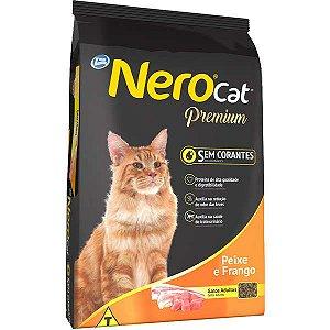 Ração Nero Cat Peixe e Frango - Para Gatos Adultos - 10kg