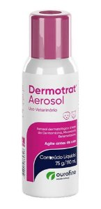 Dermotrat Aerosol Dermatológico - Para Cães E Gatos - 110ml