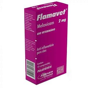 Anti-inflamatório Flamavet Agener 2mg - Para Cães - 10 Com.