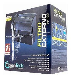 Filtro Oceantech HF-400 (450L/h) - Para Aquários de até 90 Litros