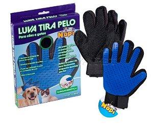 Luva Tira Pelo Napi - Removedora De Pelos Nanomagnética - Para Cães e Gatos