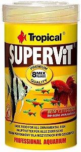 Ração Tropical Supervit - Para Peixes Ornamentais - 50g