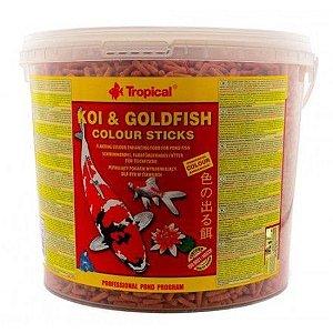 Ração Tropical Koi & Goldfish Colour Sticks - Para Peixes - 1500g