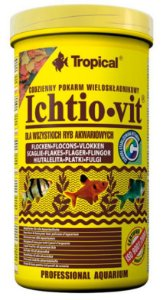 Ração Tropical Ichtio-vit - Para Peixes Ornamentais - Pote 50g