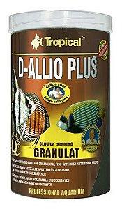 Ração Tropical D-Allio Plus Granulat - Para Peixes Ornamentais - 60g