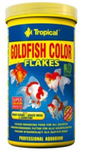Ração Tropical Goldfish Colour Flakes - Para Peixes Ornamentais - 50g