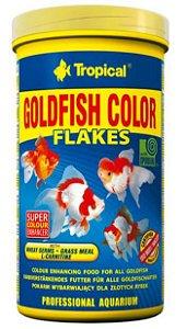 Ração Tropical Goldfish Colour Flakes - Para Peixes Ornamentais - 50g