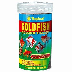 Ração Tropical Goldfish Colour Pellet - Para Peixes Ornamentais - 90g