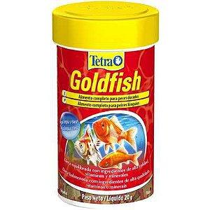 Ração Tetra Goldfish Flakes - Para Peixes Tropicais - 20g