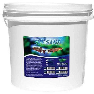 Areia Mbreda Black Blue Balde - 25kg