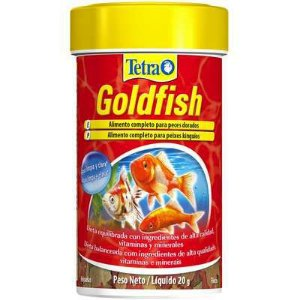Ração Tetra Goldfish Flakes 100ml – 20g