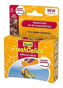 Ração Tetra FreshDelica Bloodworms Sache 48g -16 Saches