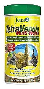 Ração Tetra Veggie Multi Wafers Para Peixes Herbívoros 250ml – 105g