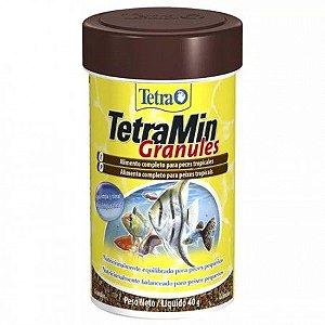 Ração TetraMin Granules - 100ml - 40Grs