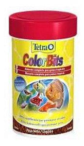 Ração Tetra ColorBits Granules - 25mll - 75g
