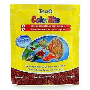 Ração Tetra Colorbits Granules – 15g