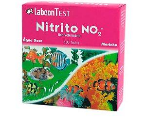 Nitrito NO2 LabconTest Alcon para Aquários Marinhos ou Água doce - 100 testes