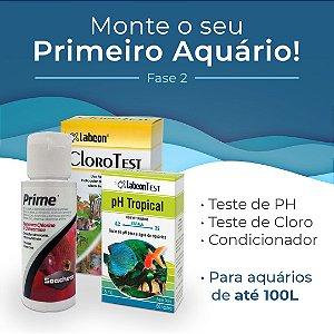 Kit Monte seu primeiro aquário de até 100 Litros - Fase 2
