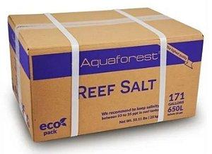 Sal Para Aquário Aquaforest Reef Salt - 25 Kg