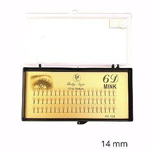 Cilios Tufinho 6D Fio Fio 14MM - WL - RA139