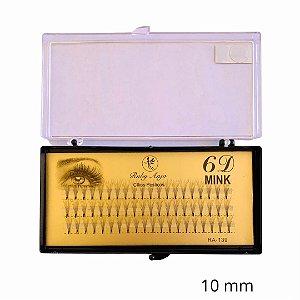 Cílios Tufinho 6D Fio Fio 10MM - WL - RA139