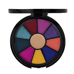 Mini Paleta De Sombras + Primer Rainbow Ruby Rose Hb-9986-1