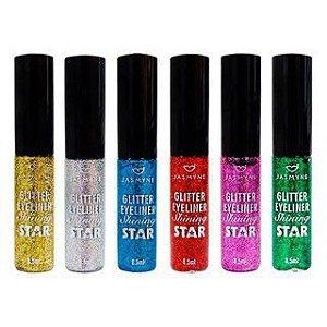 Delineador Colorido com Glitter Star