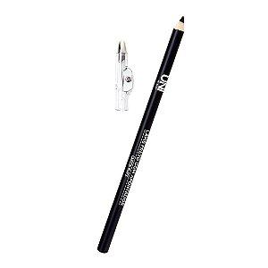Lápis de Olhos Preto com Apontador UniMakeup UN-LA75BX