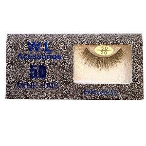 Cílios Postiços 5D/20 - WL 021