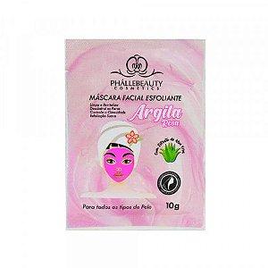 Mascara Facial Argila Rosa - Phallebeauty