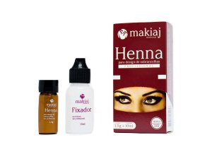 Henna Castanho Medio - Makiaj