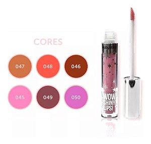 Kit gloss wow shiny lips ruby rose c/ 6 und hb-8218-1