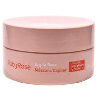 Máscara capilar argila rosa ruby rose hb-802