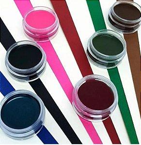 Kit cream color sombras coloridas em creme c/6 un cc-mv