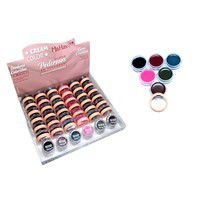 Caixa cream color sombras coloridas em creme c/36 un cc-mv
