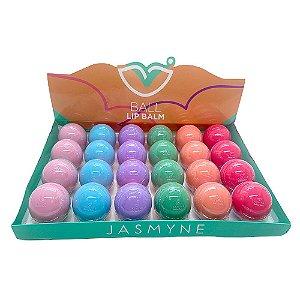 Caixa Ball Lip Balm C/24 und - Jasmyne JS01052