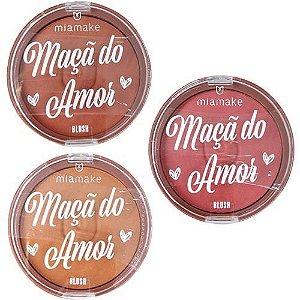 Kit Blush Maçã Do Amor C/3 Und - Mia Make