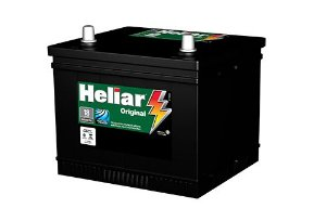 BATERIA AUTOMOTIVA HELIAR ORIGINAL HG50JD CCA405