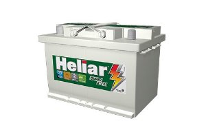 BATERIA AUTOMOTIVA HELIAR SUPER FREE HF70ND CCA660